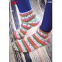 Järbo Toe-Up Socks With Magic Loop-tecnique - Knitted Socks Pattern size 21-45
