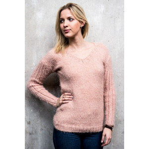 Mayflower Knitted Jumper with Long Sleeves and V-neck Pattern size S - XXXL