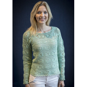 Mayflower Crochet Bluse Pattern size S - XXXL