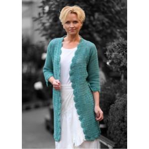 Mayflower Crochet Filet Jacket Cardigan Pattern size S - XXL