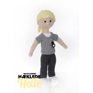 Mayflower Little Bits Everyday Heroes Social And Health Care Assistant - Crochet Doll Pattern