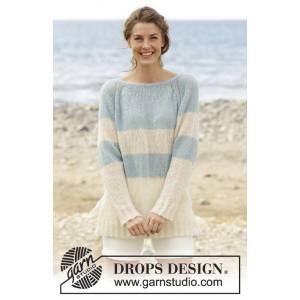 Weekend Getaway by DROPS Design - Knitted Jumper Pattern size S - XXXL