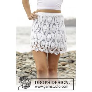 Piña Colada by DROPS Design - Crochet Skirt Pattern size S - XXXL