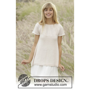 Dune Top by DROPS Design - Knitted Top Pattern size S - XXXL