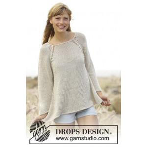 Everyday Comfort by DROPS Design - Knitted Jumper Pattern size S - XXXL
