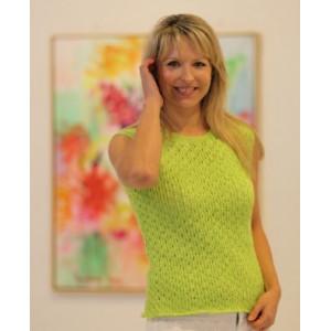 Mayflower Knitted Sleeveless Summer Jumper Pattern size S - XXXL