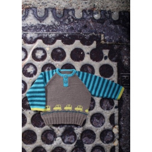 Mayflower Knitted Baby Jumper with Cars Pattern size 0/1 months - 4 years