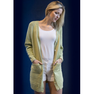 Mayflower Knitted Long Cardigan Pattern size S - XXXL