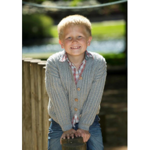 Mayflower Kids Sweater with Brioche Stitch Pattern size 4 years - 12 years