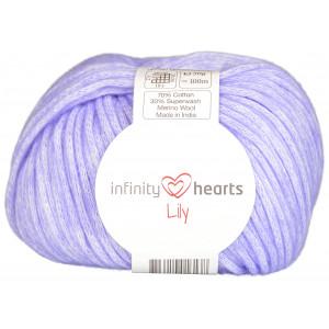 Infinity Hearts Lily Yarn 13 Blue Purple