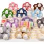 Infinity Hearts Huge Crochet Package - 3 kg. Cotton Yarn