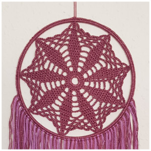 Sirius by Rito Krea - Dream Catcher Crochet Pattern 20cm