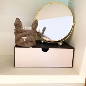 Bunny Basket by Rito Krea - Basket Crochet Pattern 8.5cm
