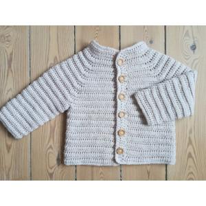 The October Jacket by Rito Krea - Baby Jacket Crochet Pattern size 6mos - 4/5yrs