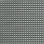 Faux Leather Pyramids fabric 140cm 17 Light Gray metallic - 50cm