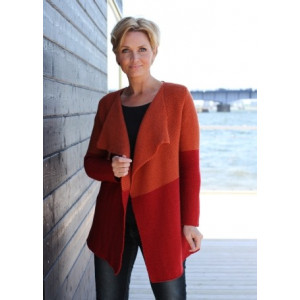 Mayflower Knitted Two-color Jacket Pattern size S - XXXL
