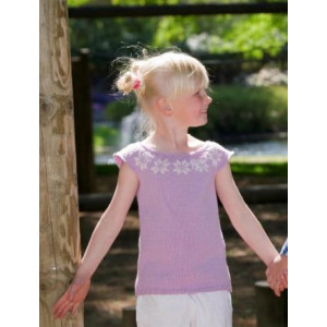 Mayflower Knitted Kids Top with Nordic Pattern size 4 years - 12 years
