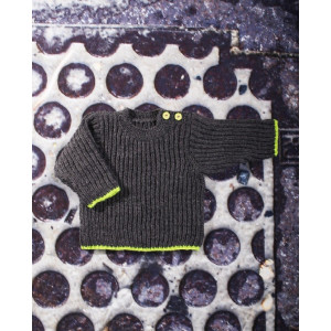Mayflower Knitted Baby Sweater with Brioche Stitch Pattern size 3 months - 6 years