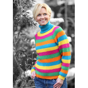Mayflower Knitted Sweater with Stripes Pattern size S - XXL