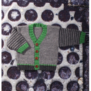 Mayflower Knitted Baby Sweater with V-neck Pattern size 0/1 months - 4 years