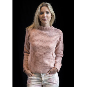 Mayflower Knitted Sweater with Brioche Stitch Pattern size S - XXXL
