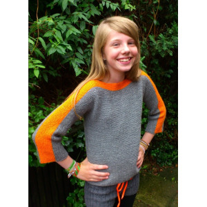Mayflower Knitted Jumper for Kids Pattern size 8 years - 14 years