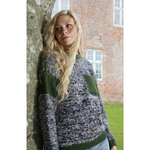 Mayflower Knitted Sweater with Pocket Pattern size S - XXXL
