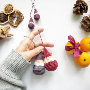 Tumble Elf by Rito Krea - Crochet Pattern 8cm