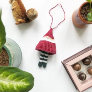 Dingle-Dangle Pixie by Rito Krea - Crochet pattern 15cm