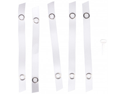 401206 per pack of 5 Prym Clip on Towel /& Cloth Loops for Linen