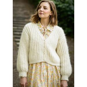 IngaCardiganen Molly by Mayflower - Knitted Jacket Pattern Size S-XXL