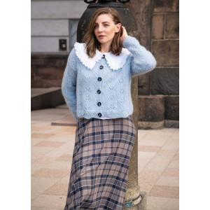 FloraCardiganen Molly by Mayflower - Knitted Jacket Pattern Size S-XXL
