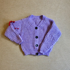 Soft Lavender Cardigan by Rito Krea - Knitting Pattern Cardigan Size XS-L