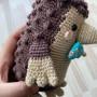 Henry the Hedgehog by Rito Krea - Soft Toy Crochet Pattern 16cm