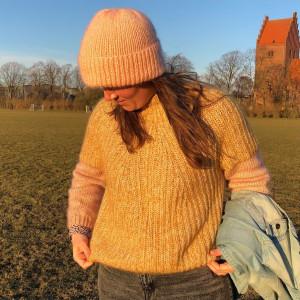 Weaping Willow Sweater by Rito Krea - Knitting Pattern: Sweater, sizes S-XL