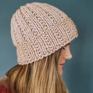 Classy Hat by Rito Krea - Knitting Pattern: Hat, onesize