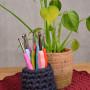 Infinity Hearts Rainbow XL Crochet Hooks Set 13.5cm 2-8mm 11 sizes