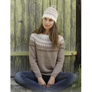 Talvikby DROPS Design - Knitted Jumper Pattern Sizes S - XXXL