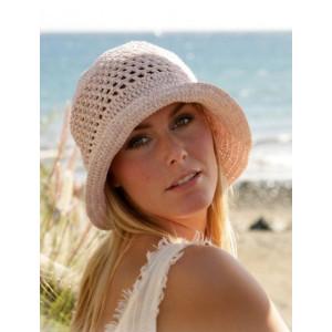 Seaside by DROPS Design - Crochet Hat Pattern size S - L