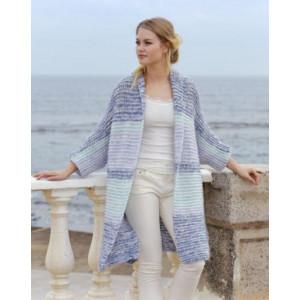 La Mare by DROPS Design - Jacket Knitting pattern size S - XXXL