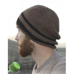 Carmel by DROPS Design - Crochet Men's Hat Size S - XL
