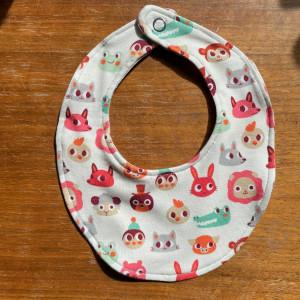 Baby Bib by Rito Krea - Baby Bib Sewing Pattern 24x19cm