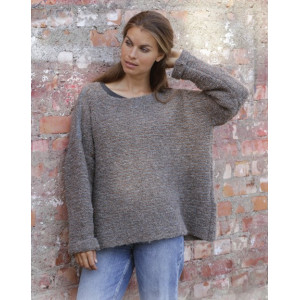 Willow Laneby DROPS Design - Knitted Jumper Pattern Sizes S - XXXL