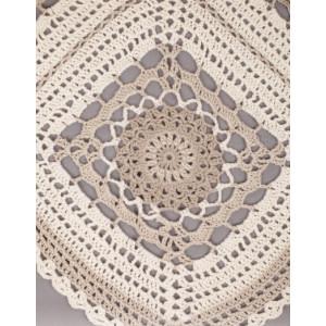 Midsummer Joy by DROPS Design - Crochet Poncho Pattern One Size