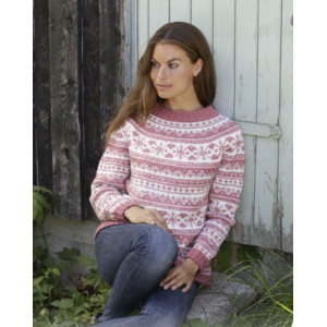 Selvik by DROPS Design - Knitted Jumper Pattern Sizes S - XXXL