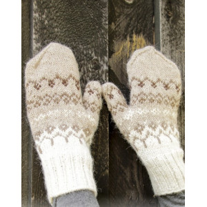 Talvik Mittensby DROPS Design - Knitted Mittens Pattern Size S/M