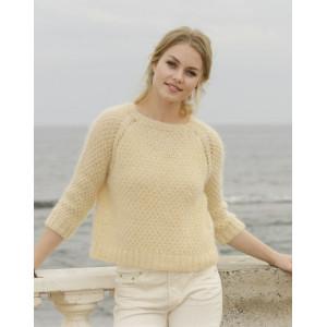 Le Conquet Jumper by DROPS Design - Blouse Knit pattern size XS - XXXL