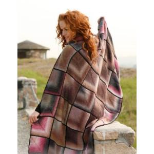 Kaleidoscope by DROPS Design - Knitted Blanket Pattern 135x85 cm