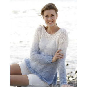 Sailing by DROPS Design - Knitted Jumper with Rib and Vent Pattern size S - XXXL