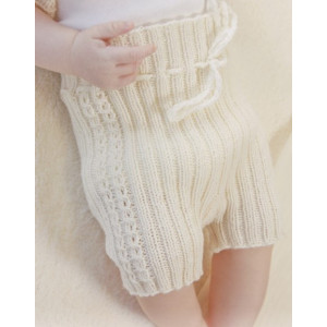 Simply Sweet Shorts by DROPS Design - Knitted Baby Shorts Pattern size Premature - 4 years